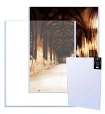 1 Max Pro 29 x 43 Uncut Sheet Hard Plastic Topload Holders 29x43 protectors