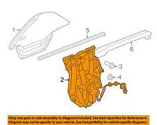 JAGUAR OEM 07-15 XK XKR Left Rear Quarter Window Regulator C2P24322