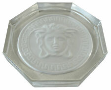 Rosenthal Versace Medusa Crystal Vetro sotto capomacchlna Ø 10,5cm, II. scelta (ae822)