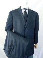HUGO BOSS Einstein Sigma 3 button midnight blue Super 100 wool suit 38x27 44