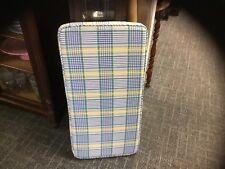 Waverly Home Classic-Valley Lake Plaid-Custom Cushion-Blue/Yellow/White/Green-