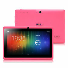 iRULU 7 Zoll Tablet PC Android 6.0 Quad Core 1.5GHz 16GB HD Screen WLAN Pink