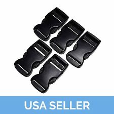 """1"""" Side Release Buckle, Side Release Clip, 1 Inch, 5 Pcs Shipped from USA"""