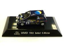 WOW EXTREMELY RARE Subaru Vivio 4WD Turbo McRae Safari 1993 WRC 1:64 CM's Kyosho