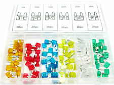 AUTOMOBILE/VOITURE Mini Blade Fuse 120pc Assortiment Set/Kit TZ AU303