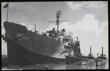 USS Proteus AS-19 postcard US Navy submarine tender