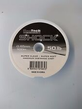 SEATECH PRO - SHOCK LEADER CLEAR 50lb/60lb/70lb SEA FISHING TACKLE
