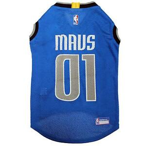 NBA Jersey for DOG & CATS - Licensed, Comfy Mesh, 21 Basketball Teams / 5 sizes.