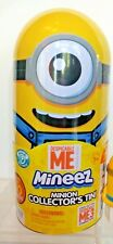 Despicable Me MINEEZ Minion Collector's Tin w 2 Exclusive Figures Inside NEW
