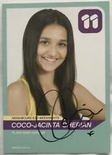 COCO CHERIAN *Rani Kapoor* HAND SIGNED Channel 11 NEIGHBOURS Cast Fan Card #1