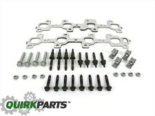 DODGE RAM 1500 2500 3500 EXHAUST MANIFOLD KIT GASKET STUDS BOLTS NUTS NEW MOPAR