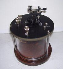 Radio Galena Tonda con doppia presa di antenna