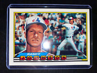 1989 TOPPS BIG Series 3 #287 RANDY JOHNSON Rookie RC Montreal Expos