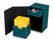 1 BCW Brand Deck Vault LX-80 - Teal MTG CCG Pokemon Protector Storage Box