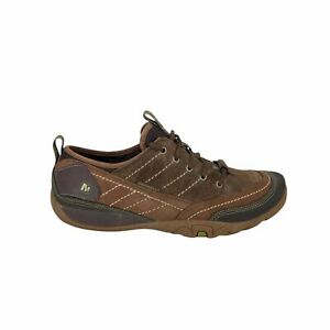 Merrell Mimosa Lace Active Shoe Womens Size 10.5 Brown Leather Hiking Ankle