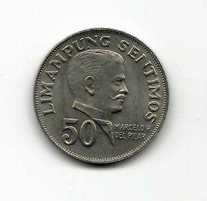 World Coins - Philippines 50 Sentimos 1972 Coin KM # 200