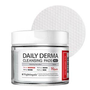 [NIGHTINGALE] Daily Derma Cleansing Pad Mild (70Pads) - 270ml