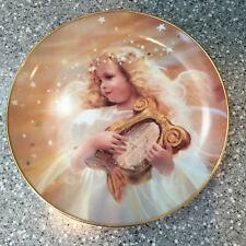 Donald Zolan HARP SONG collector plate HTF Angel