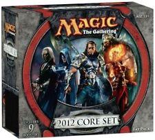 M12 CORE SET 2012 MtG Magic Gathering sealed FAT PACK card Box 9 Booster Packs +