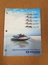 Polaris 2004 Personal Watercraft Service Manual With Cd P/N 9919061