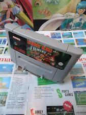 Super Nintendo SNES:Donkey Kong Country [TOP RARE & 1ERE EDITION] SEUL - Fr