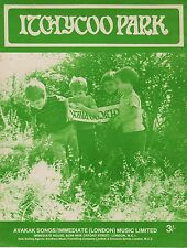 Small Faces-Itchycoo Park-1967 Sheet Music-Original UK issue-Immediate Music