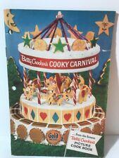 Betty Crocker Cooky Carnival Gold Medal Flour Cookbook 1957 Vintage