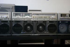 Sharp GF-777Z Stereo Boombox Ghettoblaster