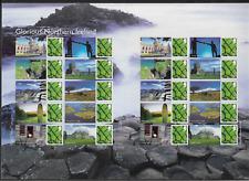 2008 GB Smiler Sheet - Glorious Northern Ireland - Full Sheet - MNH.