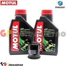 KIT TAGLIANDO OLIO + FILTRO MOTUL 5000 10W40 2LT PIAGGIO 250 VESPA GT 60 2006