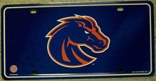 NCAA Aluminum License Plate Boise State Broncos  NEW (right facing)