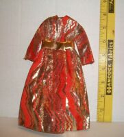 VINTAGE 1969-70 MOD BARBIE #1494 GOLDSWINGER COAT VERY GOOD CONDITION TAGGED