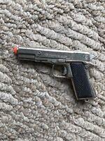Miniature Vintage Metal Gun Colt 45 CAPTAIN JACK 1960's Die Cast