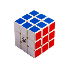 Dayan V 5 ZhanChi 3x3x3 Speed Cube Magic Puzzle White Smooth & Fast 5.7cm