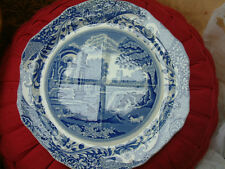 Copeland Spode Blue Italian Divided Plate..Good Condition Made in -England