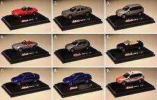 Schuco-BMW-X5-5er-7er-Cabrio-120i-Z8-Einsatzfahrzeug-Maßstab/Scale 1:87-Modell