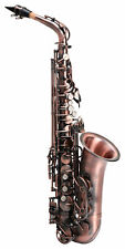 Classic Cantabile Winds As-450 Vintage Altsaxophon Leichtkoffer Antique Red
