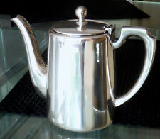 SHEFFIELD SILVER PLATED Vittoriano Caffettiera-Walker & Hall