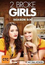 2 Broke Girls : Season 6 (DVD, 2017, 2-Disc Set)