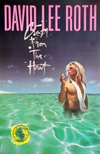 David Lee Roth 'Crazy From The Heat' Poster Van Halen Vintage Original Rare New