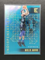 2017-18 Essentials Malik Monk RC, Rookie Indispensable Holo, Hornets