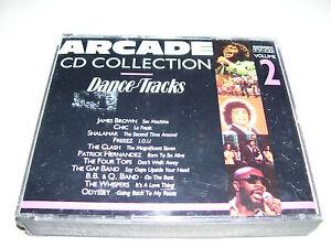 Arcade CD Collection Volume 2 Dance Tracks * RARE HOLLAN 2 CD BOX 1989 *