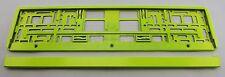Kennzeichenhalter Kennzeichenhalterung neon gelb
