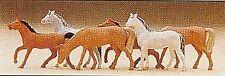 N 1 160 Preiser 79150 caballos. figuras Emb.orig.