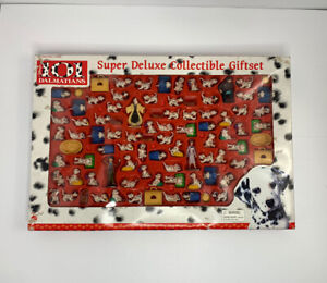 Disney 101 Dalmatians Super Deluxe Collectible Gift Set By Mattel # 66466 *NEW
