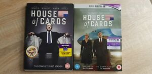 House of Cards - Season 1 & 3 - Kevin Spacey - DVD - B6L2TR