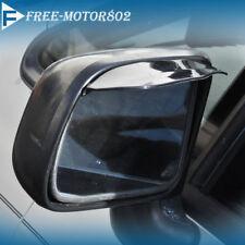 Universal 2 PCS Rear View Side Mirror Window Visor Gurad Plastic Car Auto Parts