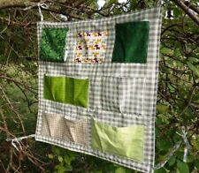 HANDMADE COTTON BABY COT BED ORGANISER PERFECT PRESENT GIFT