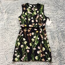 Victoria Beckham for Target Women's Dress Size Small S Black English Floral