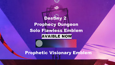 Prophecy Dungeon Solo Flawless Completion  PS4/XBOX/PC